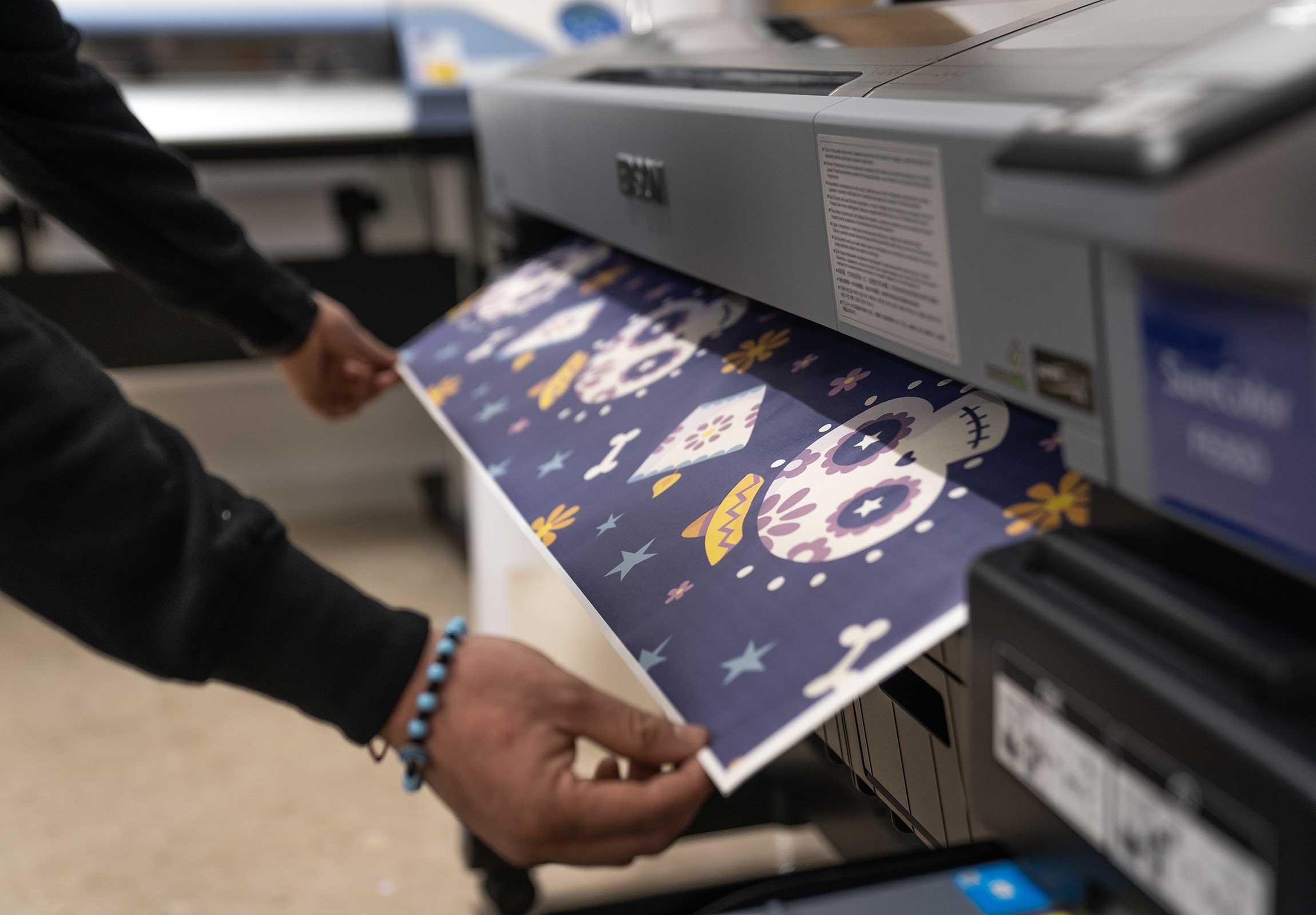 Stampa digitale Serigrafia Ricamo